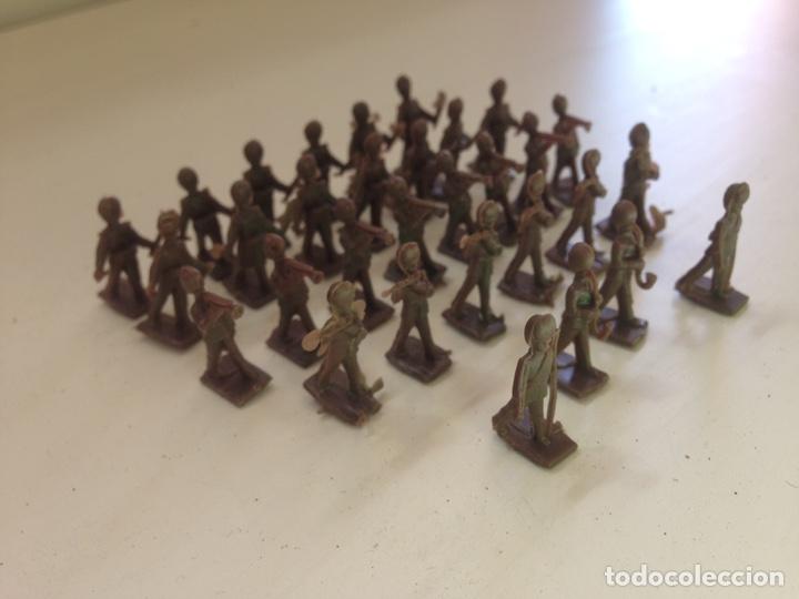 Figuras de Goma y PVC: BANDA GUARDIA REAL INGLESA - MONTAPLEX - Foto 2 - 158608316
