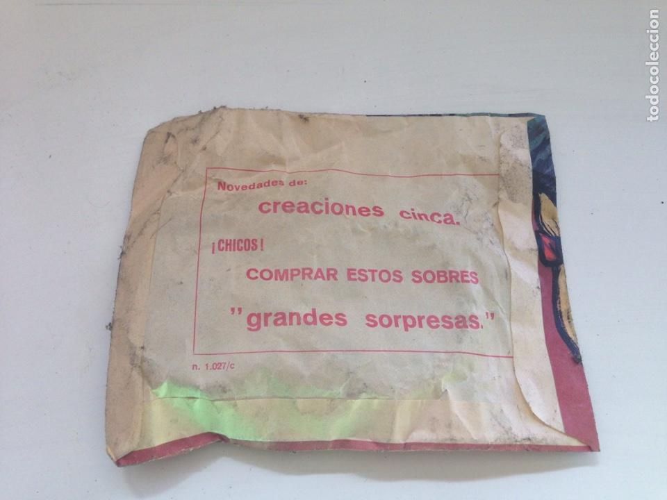 Figuras de Goma y PVC: SOBRE SORPRESA. COSTURERO INFANTIL. MONTAPLEX. MEDIDAS : 13 X 17 CM. APROX. - Foto 2 - 158610096