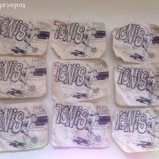 Figuras de Goma y PVC: LOTE ANTIGUO MONTAPLEX TENIS - MESA AÑOS 70. Lote 158610505