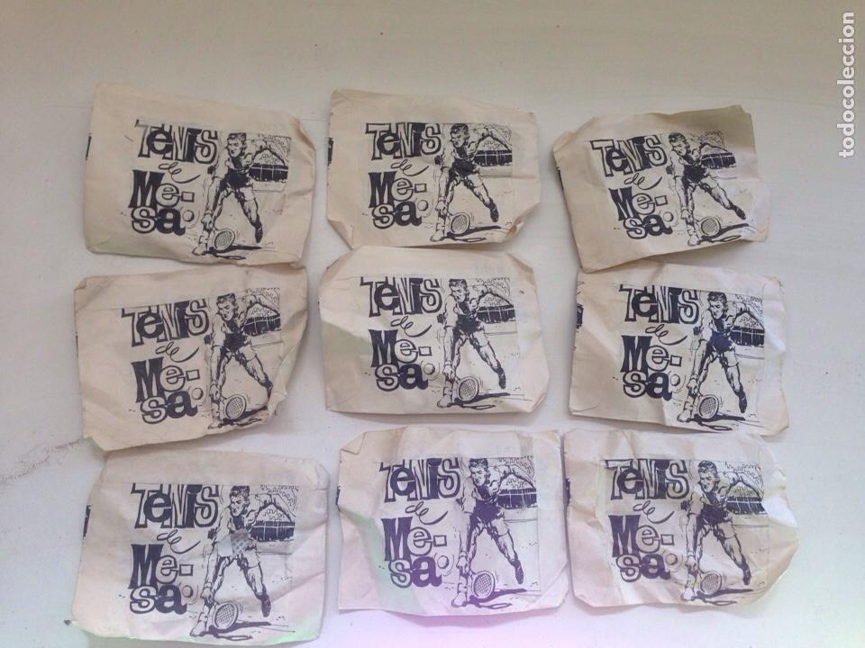 Figuras de Goma y PVC: LOTE ANTIGUO MONTAPLEX TENIS - MESA AÑOS 70 - Foto 2 - 158610505