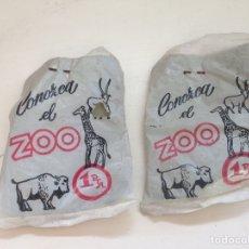 Figuras de Goma y PVC: LOTE CONOZCA EL ZOO 1 PTA TIPO MONTAPLEX AÑOS 60. Lote 158614496