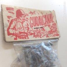 Figuras de Goma y PVC: ANTIGUO GUADALCANAL AÑOS 50. Lote 158617026