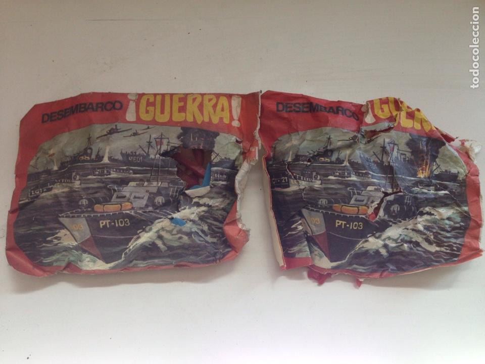 LOTE MONTAPLEX DESEMBARCÓ GUERRA AÑOS 70 (Juguetes - Figuras de Goma y Pvc - Montaplex)