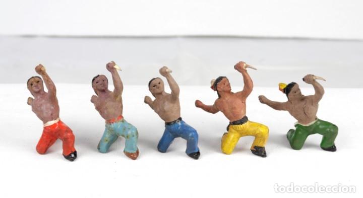 Figuras de Goma y PVC: ALCA CAPELL, INDIO PUÑAL-REF.2705 - Foto 2 - 77374378
