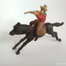Figuras de Goma y PVC: FIGURAS AÑOS 50 VAQUERO REAMSA. Lote 158819438