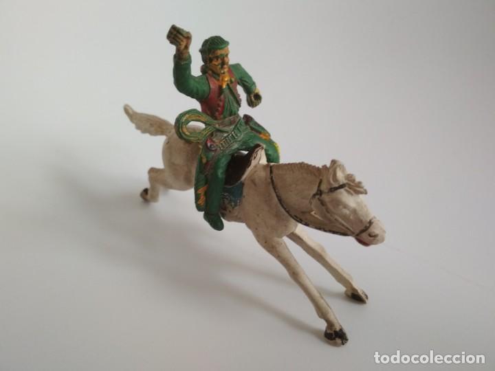 FIGURAS AÑOS 50 VAQUERO GOMA (Juguetes - Figuras de Goma y Pvc - Reamsa y Gomarsa)