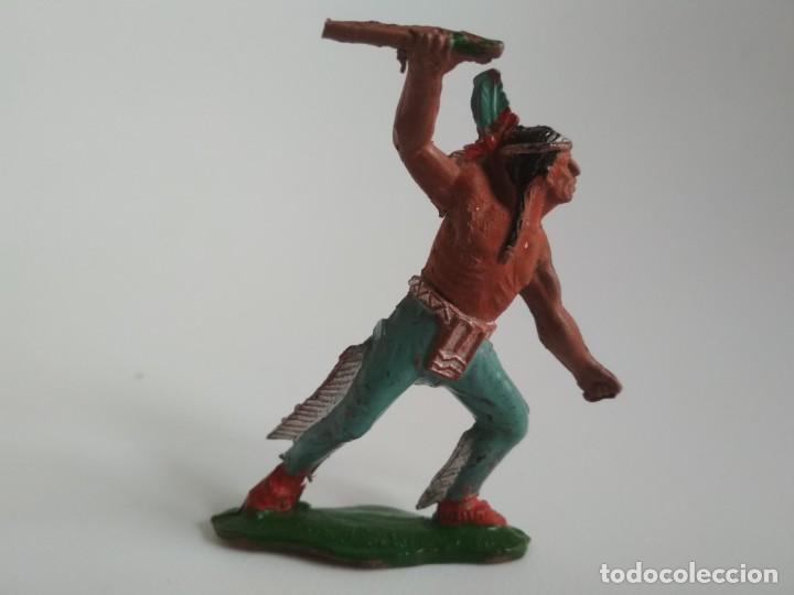FIGURA INDIO GOMA AÑOS 50 (Juguetes - Figuras de Goma y Pvc - Lafredo)