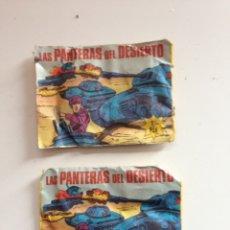 Figuras de Goma y PVC: SOBRE LAS PANTERAS DEL DESIERTO AÑOS 60 - 70. Lote 158872640