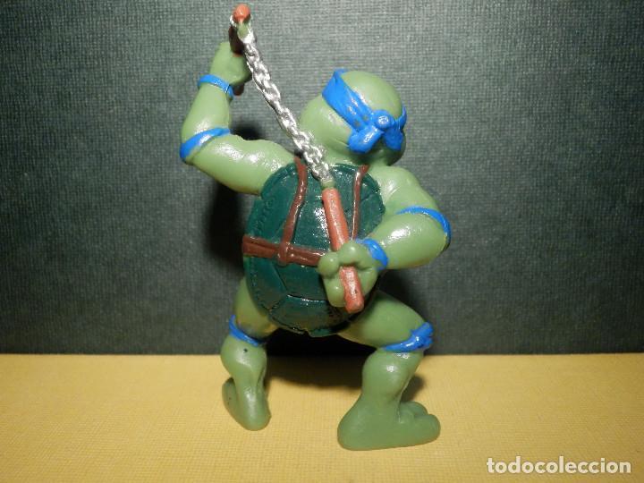 Figuras de Goma y PVC: FIGURA GOMA Ó PVC - PERSONAJE DE DIBUJOS Y CARICATURAS - Tortugas Ninja - - Foto 3 - 158883466