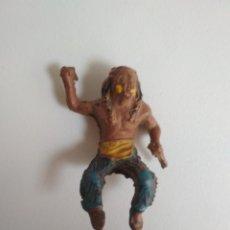 Figuras de Goma y PVC: FIGURA INDIO LAFREDO GOMA 45 MM. Lote 158912822