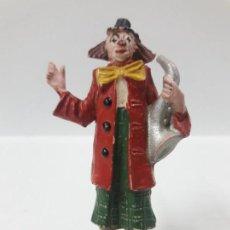Figuras de Goma y PVC: PAYASO DEL CIRCO . REALIZADO POR JECSAN . AÑOS 50 EN GOMA. Lote 158942098
