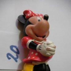 Figuras de Goma y PVC: FIGURA DE GOMA O PVC DIBUJOS ANIMADOS MINNIE. Lote 159031986