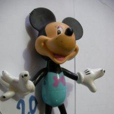 Figuras de Goma y PVC: FIGURA DE GOMA O PVC DIBUJOS ANIMADOS MICKEY. Lote 159033074