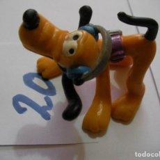 Figuras de Goma y PVC: FIGURA DE GOMA O PVC DIBUJOS ANIMADOS PLUTO - ENVIO INCLUIDO A ESPAÑA. Lote 159033390