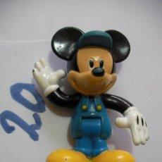 Figuras de Goma y PVC: FIGURA DE GOMA O PVC DIBUJOS ANIMADOS MICKEY - ENVIO INCLUIDO A ESPAÑA. Lote 159034170