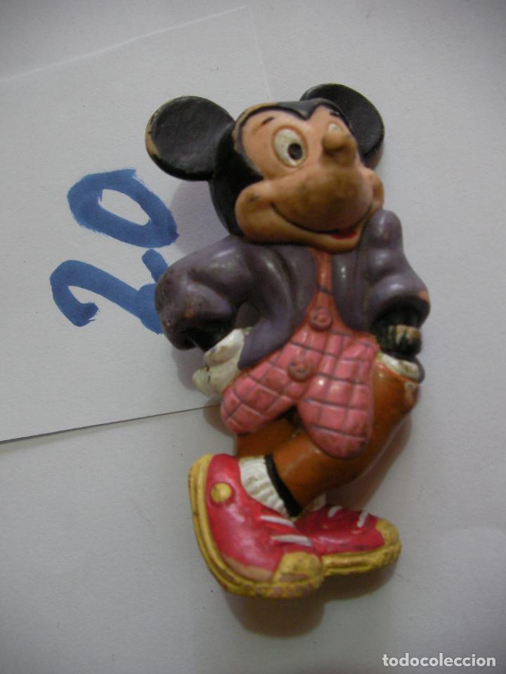 FIGURA DE GOMA O PVC DIBUJOS ANIMADOS MICKEY - ENVIO INCLUIDO A ESPAÑA (Juguetes - Figuras de Goma y Pvc - Otras)