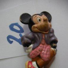 Figuras de Goma y PVC: FIGURA DE GOMA O PVC DIBUJOS ANIMADOS MICKEY - ENVIO INCLUIDO A ESPAÑA. Lote 159034186