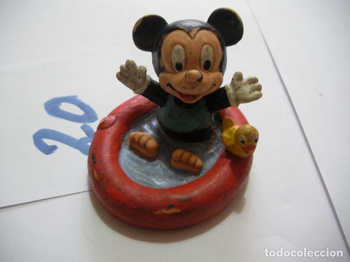 FIGURA DE GOMA O PVC DIBUJOS ANIMADOS MICKEY BEBE - ENVIO INCLUIDO A ESPAÑA (Juguetes - Figuras de Goma y Pvc - Otras)