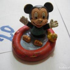 Figuras de Goma y PVC: FIGURA DE GOMA O PVC DIBUJOS ANIMADOS MICKEY BEBE - ENVIO INCLUIDO A ESPAÑA. Lote 159034210