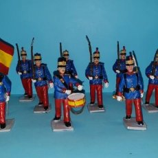 Figuras de Goma y PVC: 13 FIGURAS GUARDIA REAL DE REAMSA/GOMARSA/SOLDIS. Lote 159056338