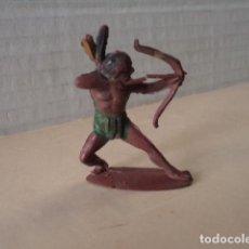 Figuras de Goma y PVC: FIGURA DE GOMA INDIO PECH. Lote 159116530