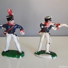 Figuras de Goma y PVC: PRUSIANOS, BATALLA DE WATERLOO DE LAFREDO, SOLDADOS NAPOLEÓNICOS TAMAÑO COMPATIBLE REAMSA. Lote 159296168