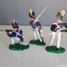 Figuras de Goma y PVC: GRANADEROS FRANCESES, BATALLA DE WATERLOO DE LAFREDO, SOLDADOS NAPOLEÓNICOS COMPATIBLE REAMSA. Lote 159296882