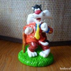 Figuras de Goma y PVC: FIGURA DE GOMA DE SILVESTRE - WARNER BROS. Lote 159432226