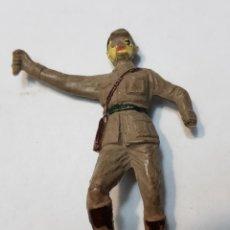 Figuras de Goma y PVC: FIGURA GOMA JECSAN PUENTE SOBRE EL RÍO KWAI. Lote 159442478