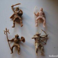 Figuras de Goma y PVC: FIGURAS JECSAN, COMANSI, PECH, LAFREDO, REAMSA, BRITAINS TOY SOLDIERS.. Lote 175873553
