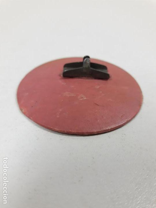 Figuras de Goma y PVC: BASE DE SUJECION DE LAS FIGURAS . ORIGINAL REALIZADA POR ARCLA . AÑOS 50 - Foto 2 - 159523246