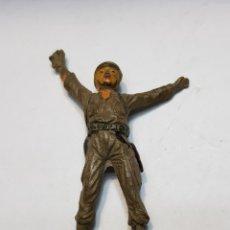 Figuras de Goma y PVC: FIGURA GOMA JECSAN PUENTE SOBRE EL RÍO KWAI. Lote 159579164