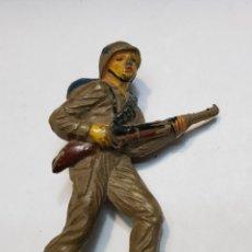 Figuras de Goma y PVC: FIGURA GOMA JECSAN PUENTE SOBRE EL RÍO KWAI. Lote 159579642