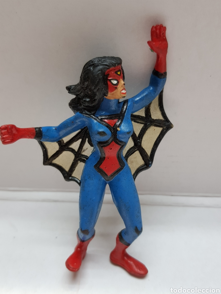 FIGURA SPIDER-WOMAN MARVEL DE CÓMICS SPAIN (Juguetes - Figuras de Goma y Pvc - Comics Spain)