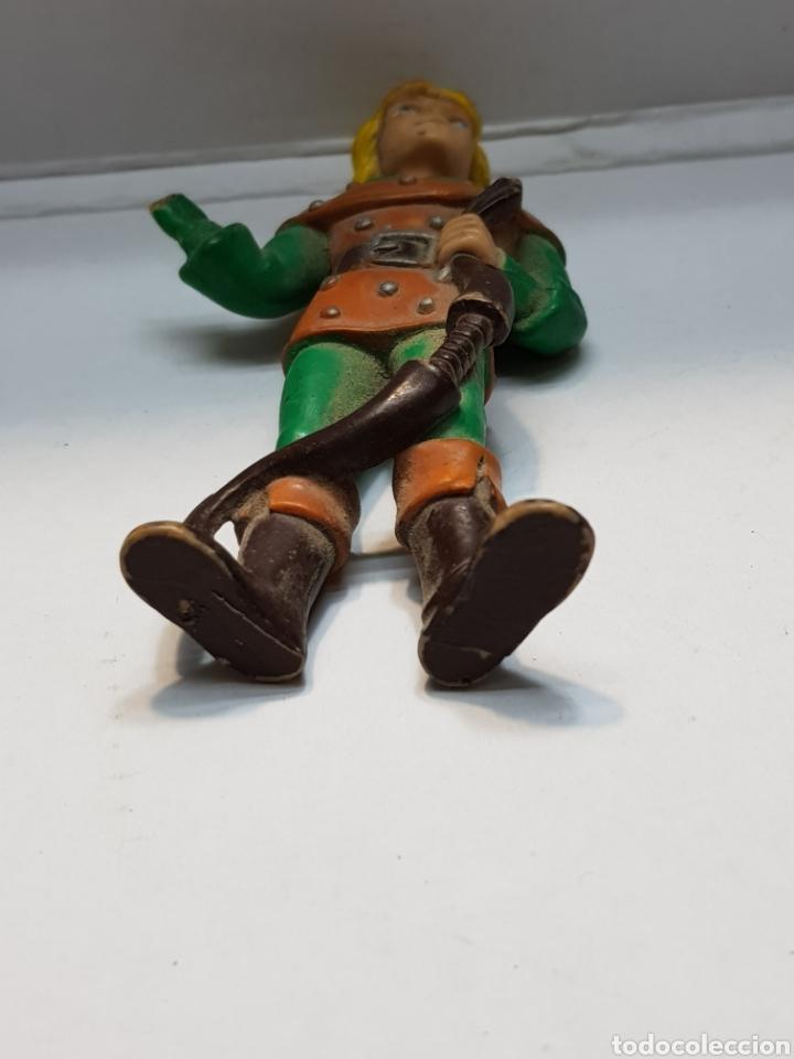 Figuras de Goma y PVC: Figura goma Hank el arquero de Dragones y Mazmorras Cómics Spain - Foto 4 - 159581132