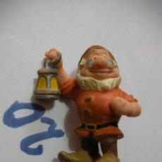 Figuras de Goma y PVC: FIGURA DE GOMA O PVC DIBUJOS ANIMADOS ENANITO - ENVIO INCLUIDO A ESPAÑA. Lote 159635010