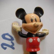 Figuras de Goma y PVC: FIGURA DE GOMA O PVC DIBUJOS ANIMADOS MICKEY. Lote 159635214