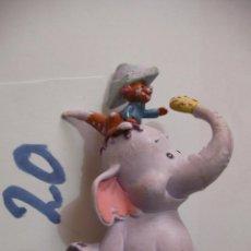 Figuras de Goma y PVC: FIGURA DE GOMA O PVC DIBUJOS ANIMADOS DUMBO. Lote 159635358