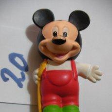 Figuras de Goma y PVC: FIGURA DE GOMA O PVC DIBUJOS ANIMADOS MICKEY. Lote 159635630