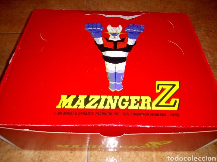 Figuras de Goma y PVC: MAZINGER Z Colección 8 figuras con sus sobres + caja COMANSI YOLANDA - Foto 3 - 210781877