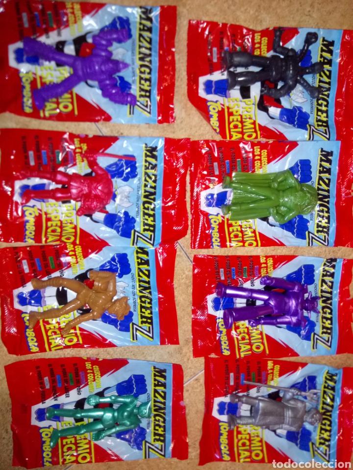 Figuras de Goma y PVC: MAZINGER Z Colección 8 figuras con sus sobres + caja COMANSI YOLANDA - Foto 2 - 210781877