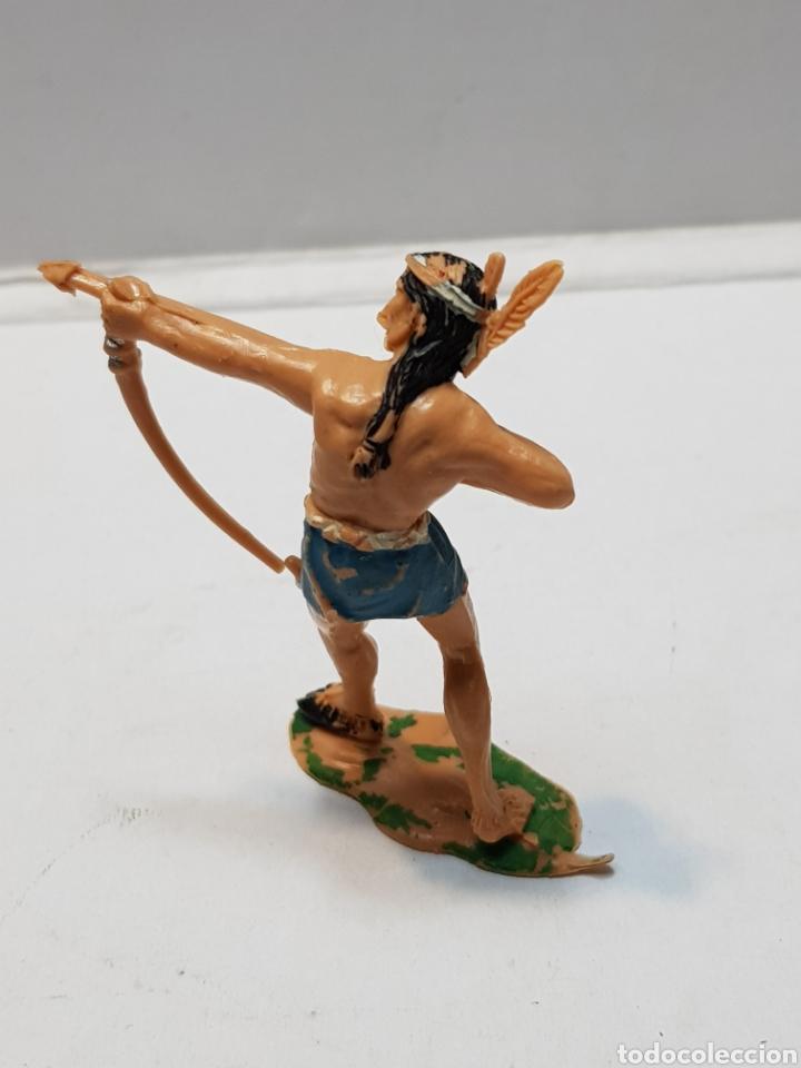 Figuras de Goma y PVC: Figura Indio Sotorres - Foto 2 - 159667902