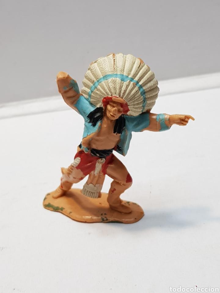 FIGURA JEFE INDIO DE SOTORRES (Juguetes - Figuras de Goma y Pvc - Sotorres)