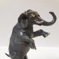 Figuras de Goma y PVC: ELEFANTE DEL CIRCO . REALIZADO POR JECSAN . AÑOS 50 EN GOMA. Lote 159743390