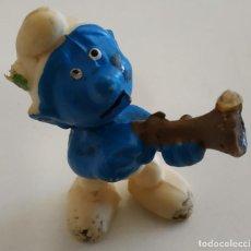 Figurines en Caoutchouc et PVC: FIGURA DE PVC , LOS PITUFOS , SIN MARCA. Lote 159746290
