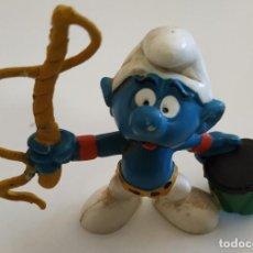 Figuras de Goma y PVC: FIGURA DE PVC , LOS PITUFOS , MARCA SCHLEICH. Lote 159746882