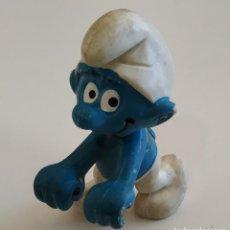 Figuras de Goma y PVC: FIGURA DE PVC , LOS PITUFOS , MARCA SCHLEICH. Lote 159747158