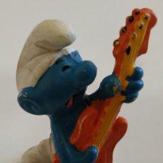 Figuras de Goma y PVC: FIGURA DE PVC , LOS PITUFOS , MARCA SCHLEICH. Lote 159747254