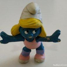 Figuras de Goma y PVC: FIGURA DE PVC , LOS PITUFOS , MARCA SCHLEICH. Lote 159747462
