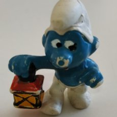 Figuras de Goma y PVC: FIGURA DE PVC , LOS PITUFOS , MARCA SCHLEICH. Lote 159747570